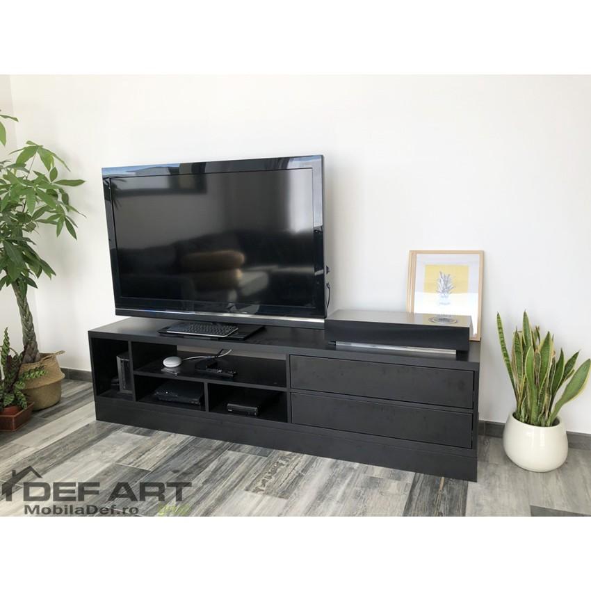 Comoda tv negru